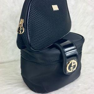 Giorgio Armani Cosmetic Bags NWOT